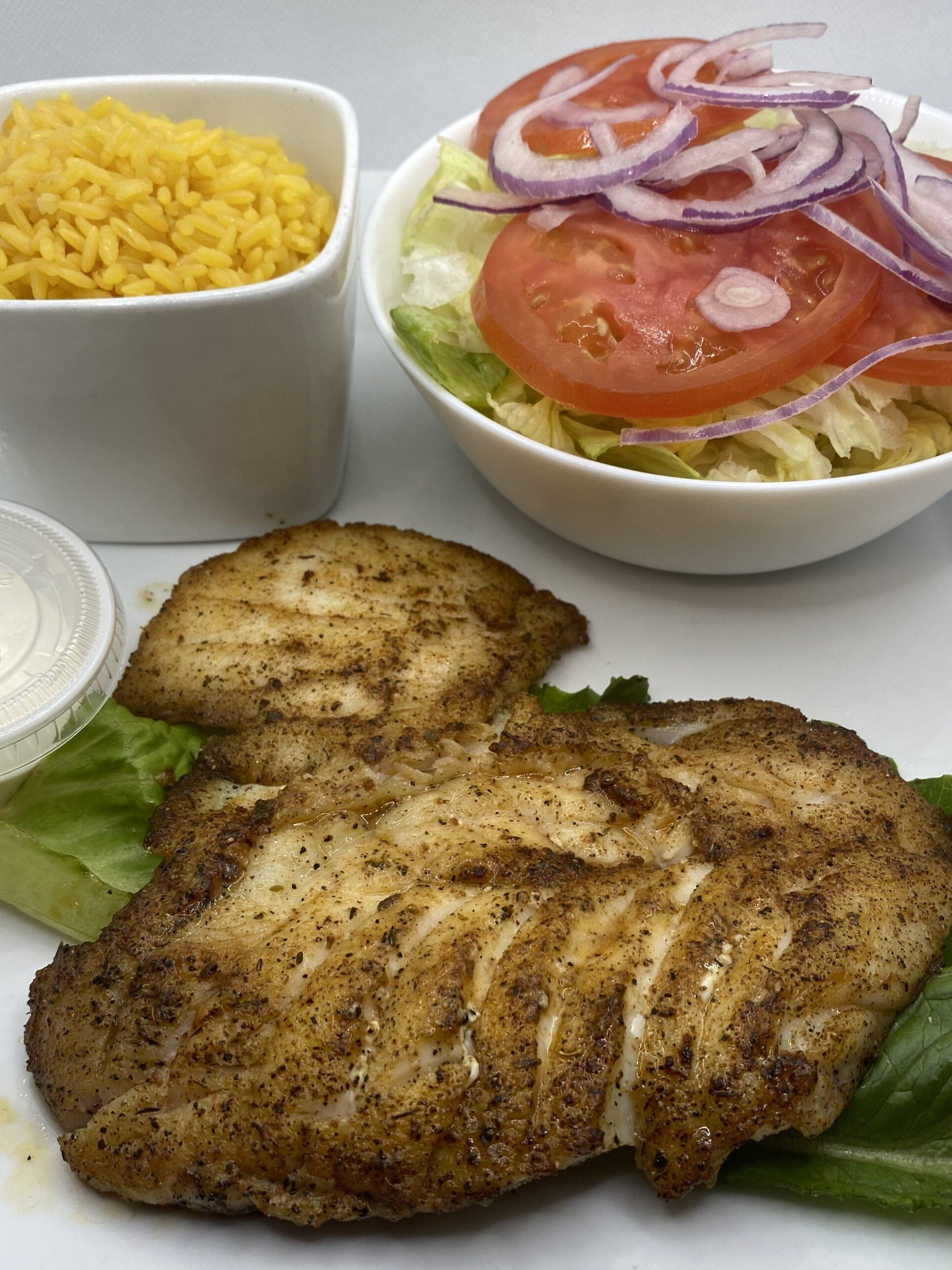 Fish Fillet Blackened